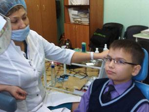 Школа 76. Иркутск. Стоматологический кабинет